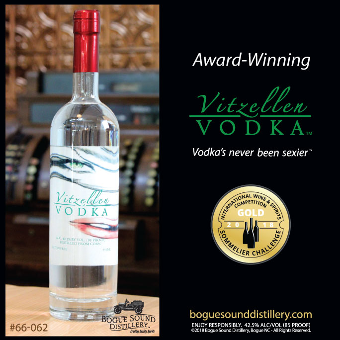 Vitzellen Vodka takes the Gold in 2018