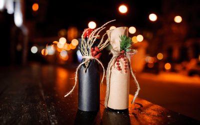4 Ways to Gift Wrap Liquor