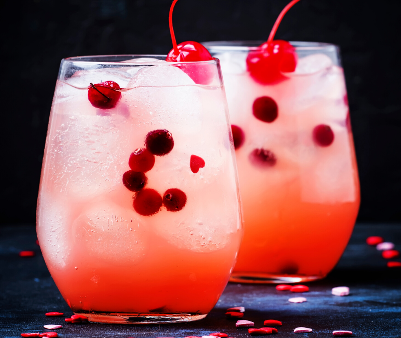 Valentine's Day cocktails to set the mood
