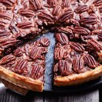 easy chocolate bourbon pecan pie