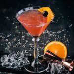 Great Gatsby Summer Vodka Cocktail