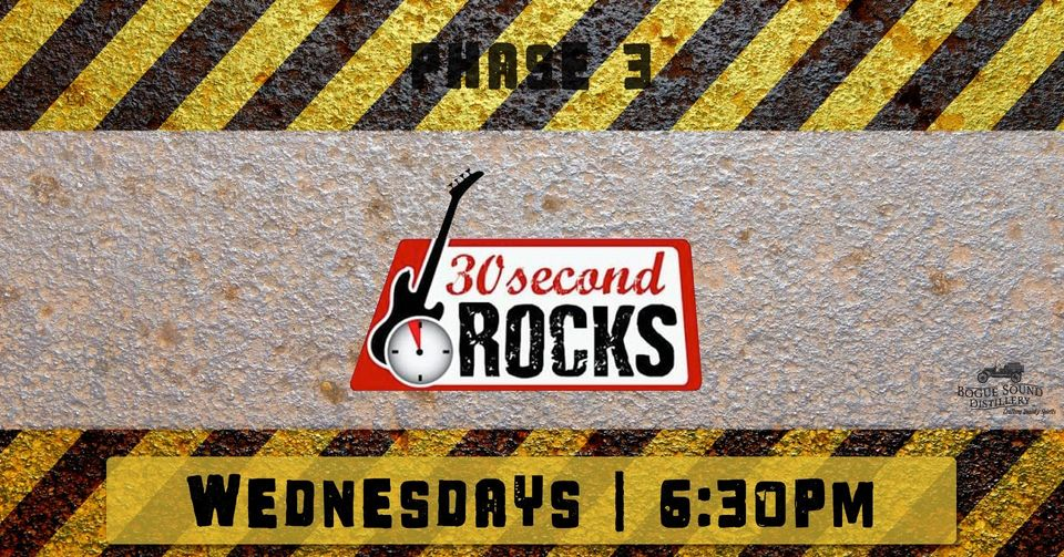 30 Second Rocks @ Bogue Sound Distillery