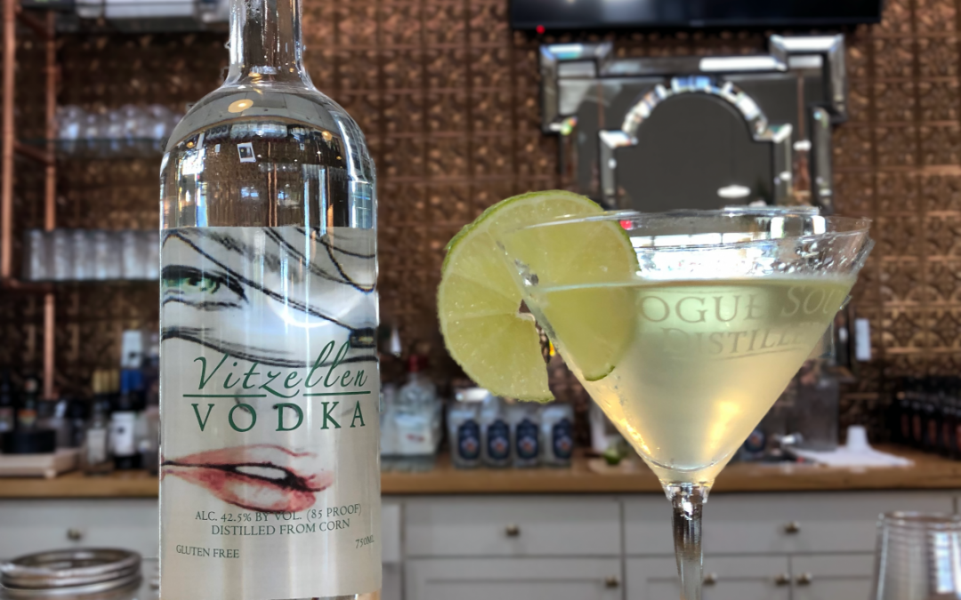 Vodka Gimlet with Vitzellen Vodka