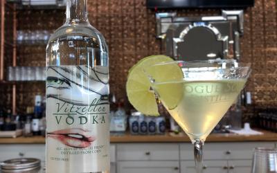 Vodka Gimlet with Vitzellen Vodka