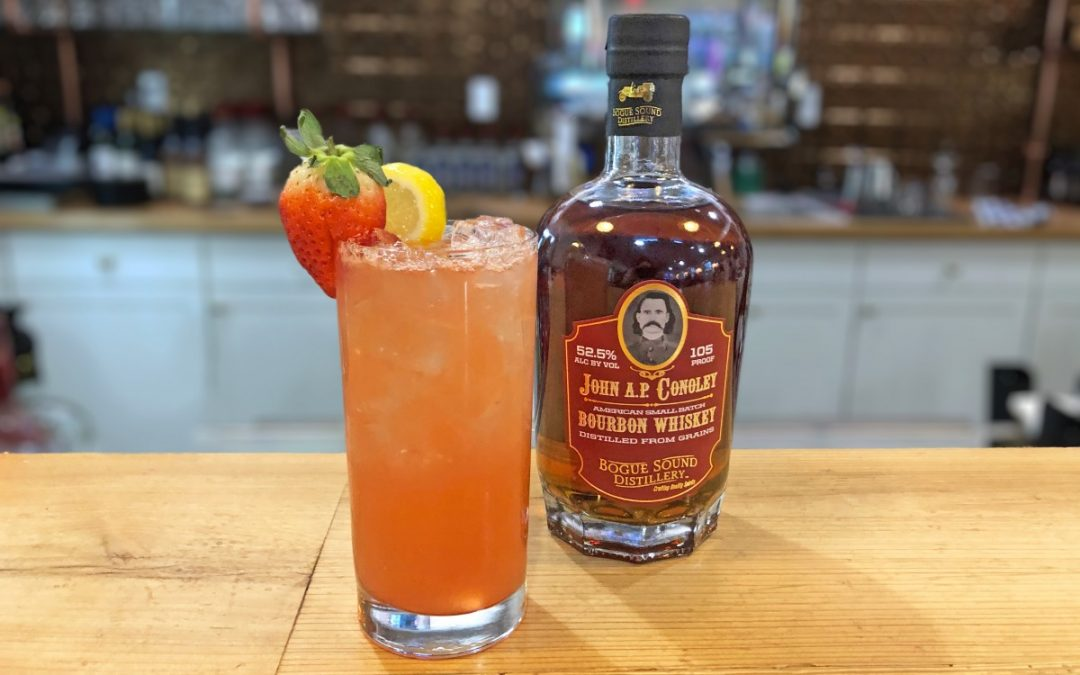 Conoley Strawberry Spritzer | JAPC Bourbon Whiskey